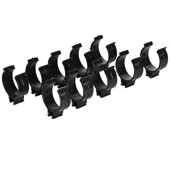 Принадлежности к промышленным пылесосам ИНТЕРСКОЛ Фиксатор кабеля для пылесосов (набор - 10 шт.)
